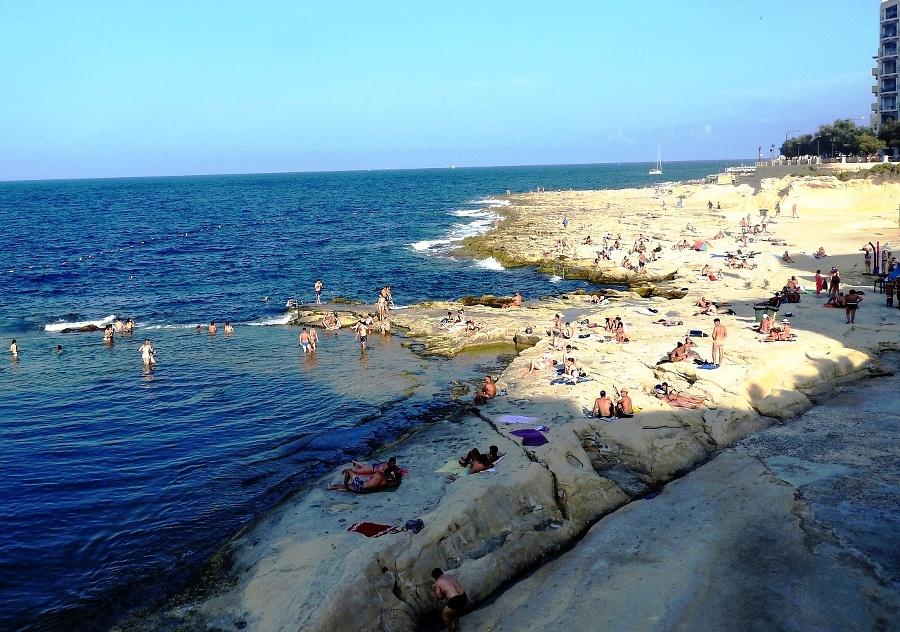 Takto vyzerala pláž v