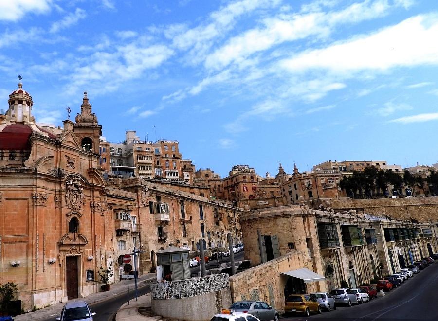 Krásy mestečka Valletta.