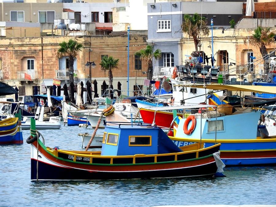 V rybárskej dedinke Marsaxlokk