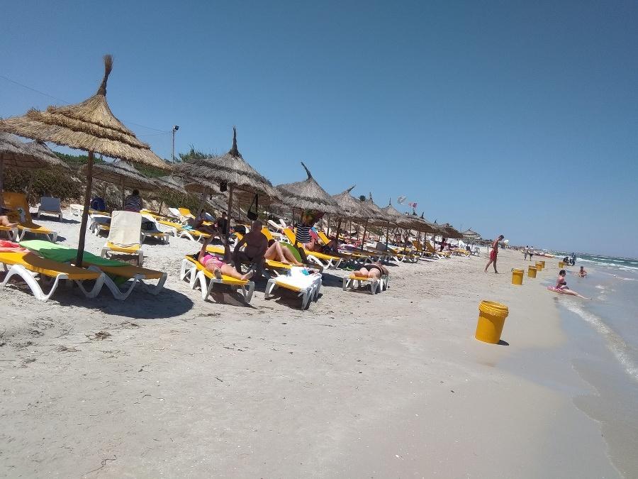 Pláž bola vždy čistá