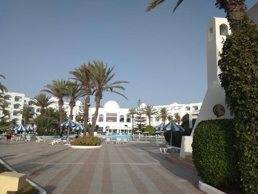 S hotelom Mahdia Palace