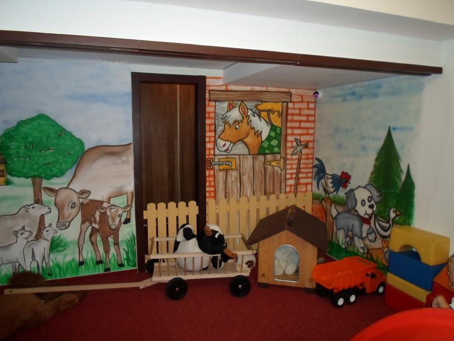 Detské oddelenie v hoteli