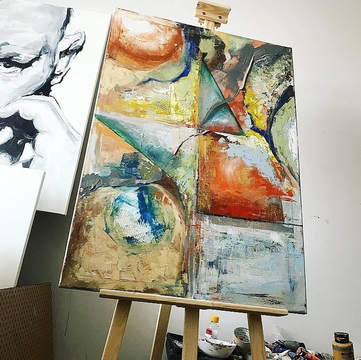 Kristián maľuje dychberúce obrazy.