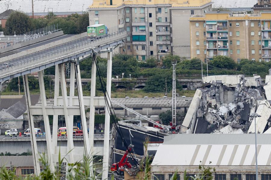 Most sa zrútil v