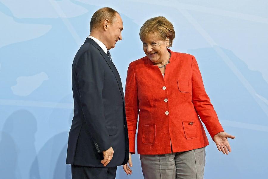U Angely Merkelovej sa