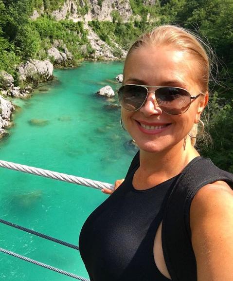 Herečka Zuzana Vačková na