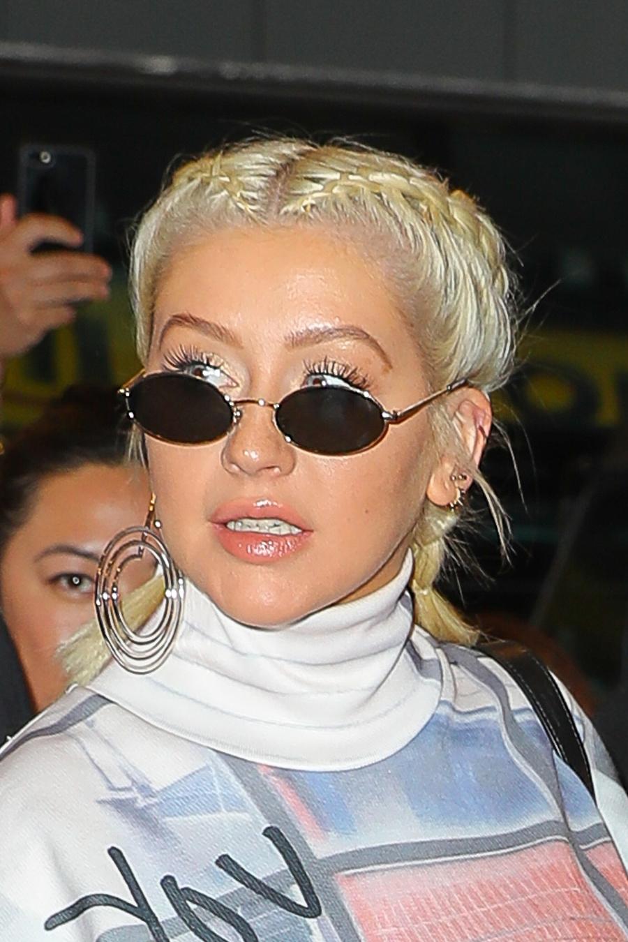 Christina Aguilera je na