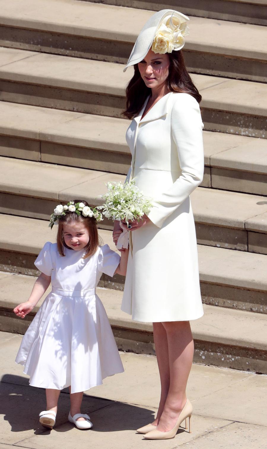Vojvodkyňa Kate s princeznou