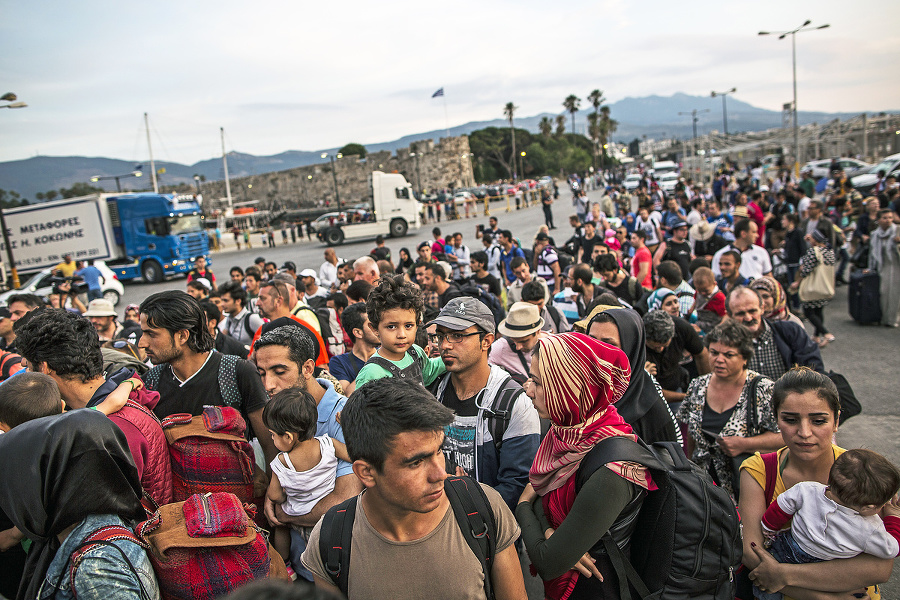 Migranti: Ich prijatie je