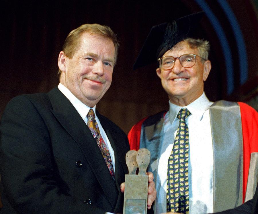 S Havlom: Bývalý prezident