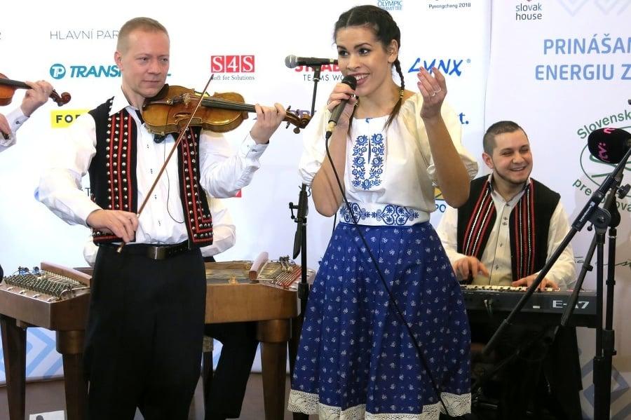 Speváčka Veronika Strapková je