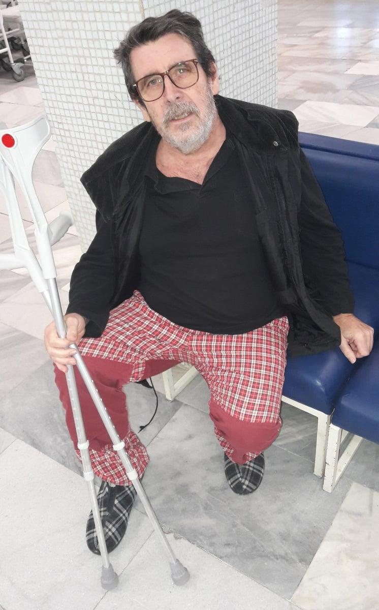 Vladimír (60) je vďačný