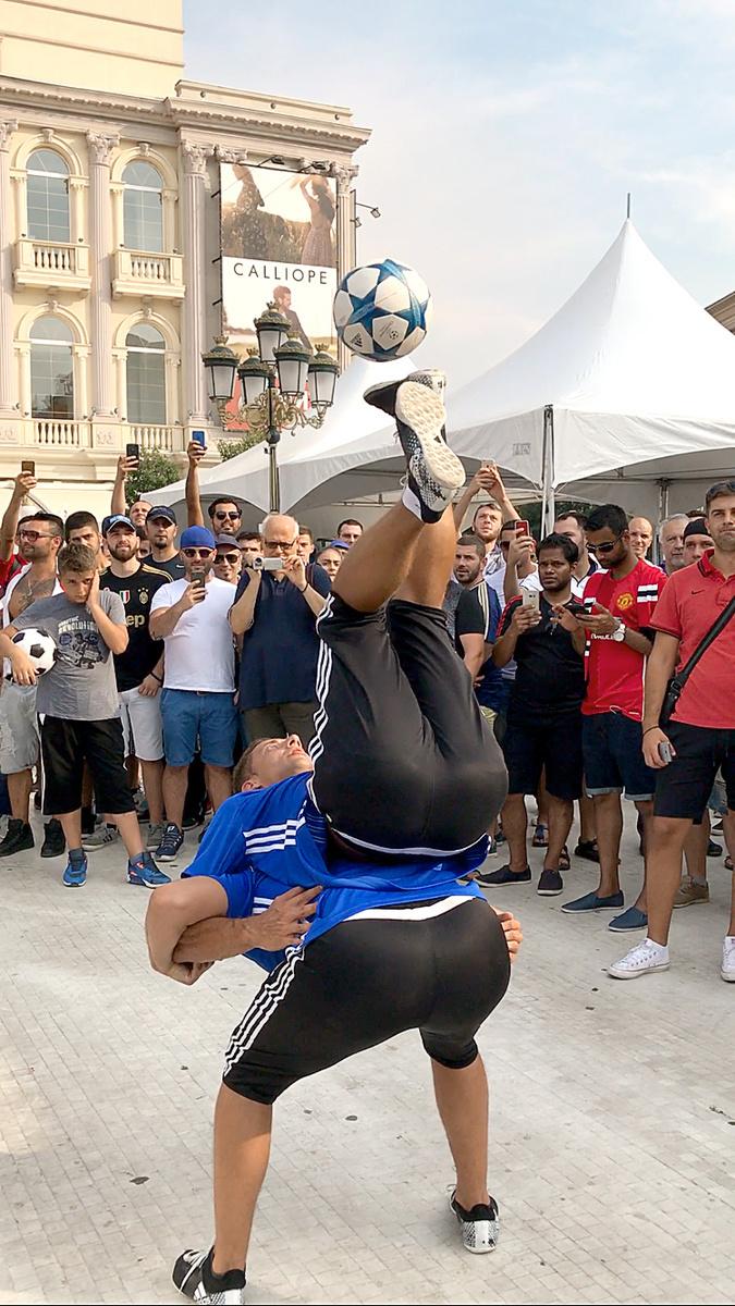 Žongléri zo Slovenska v