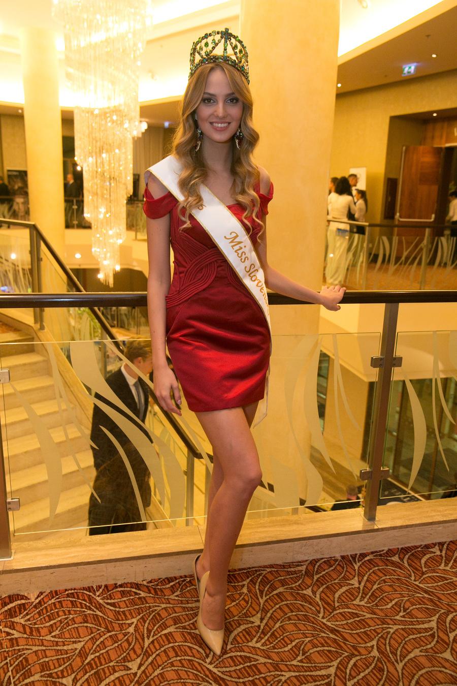 Kristína Činčurová (19), Miss