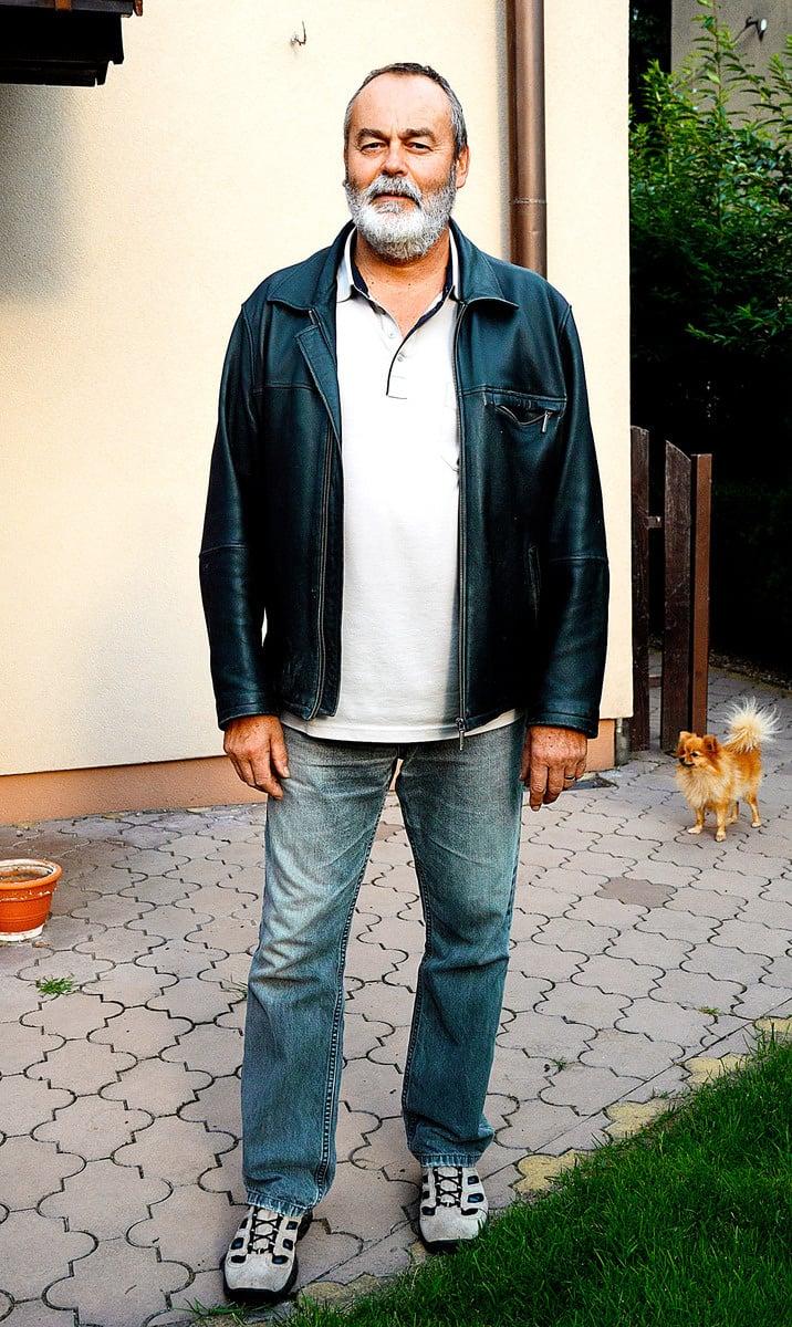 Róbert (52), informátor, Kokšov
