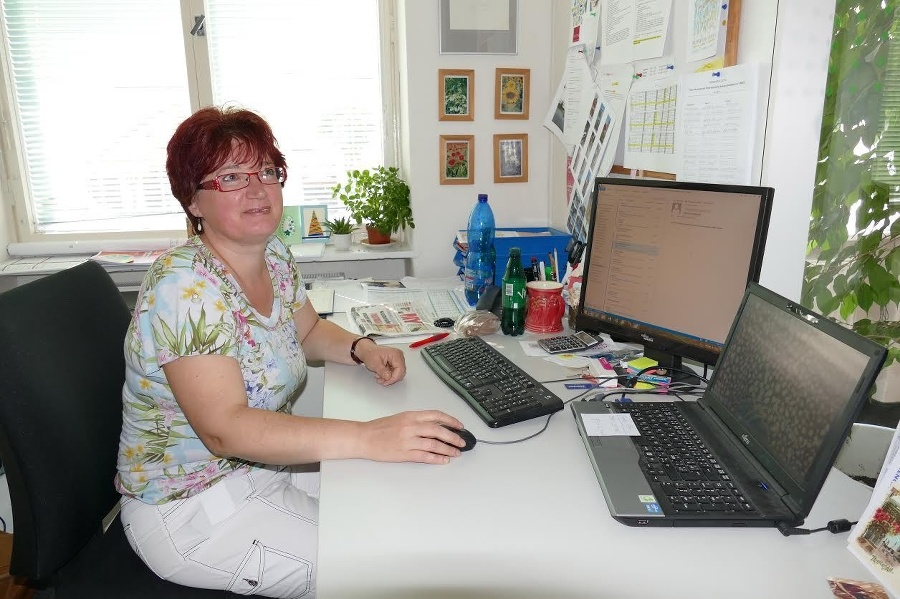 Zamestnankyňa úradu Janka Sedláčková