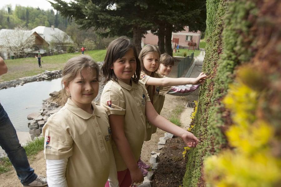 Školáci v Štiavnických Baniach