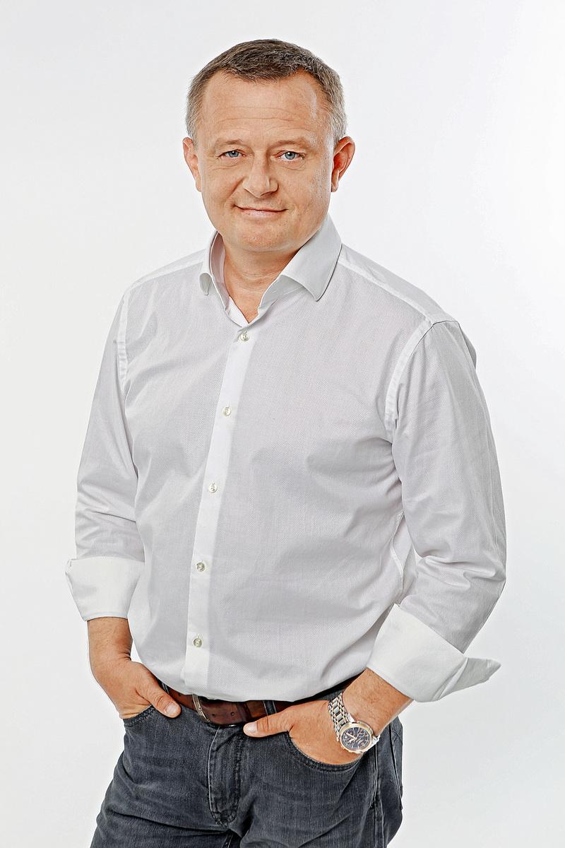 Moderátor Vilo Rozboril