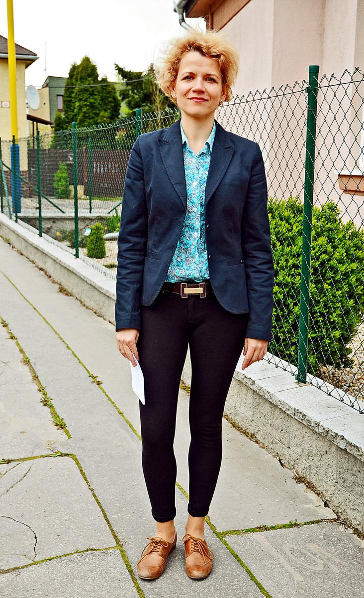 Katarína, administratívna pracovníčka, Košice.