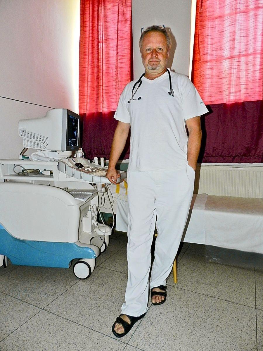 Karol Mičko, internista.