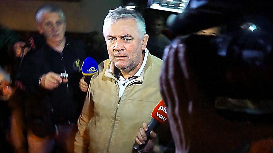 Jána Slotu zadržala polícia