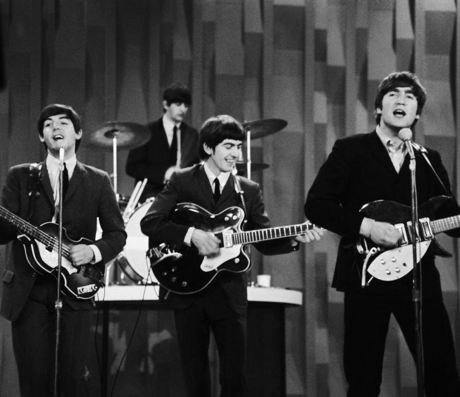 Legendárna britská skupina Beatles.