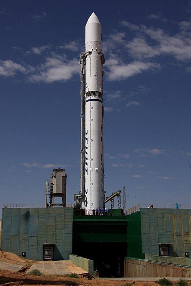 Raketa Zenit vyštartovala do