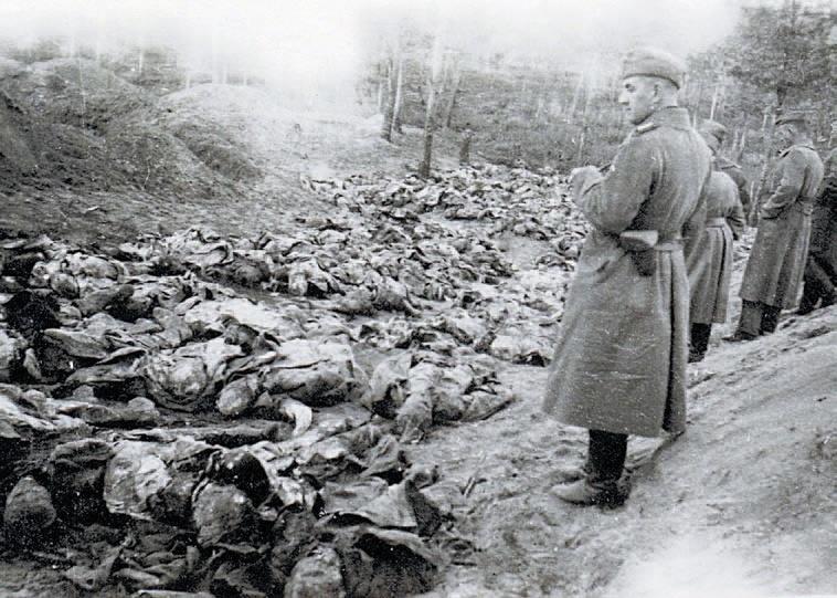 Rusi popravili v Katyňskom
