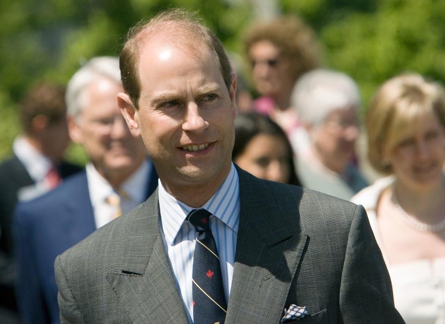 Princ Edward z Wessexu.