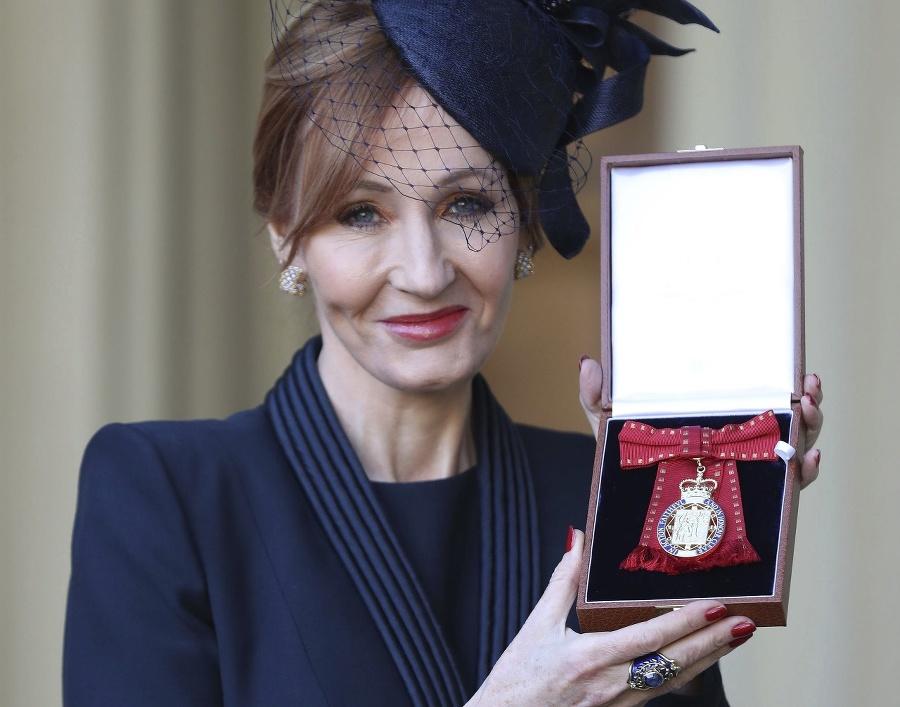 J.K. Rowlingová s Radom