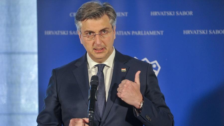 Chorvátsky premiér Andrej Plenkovič