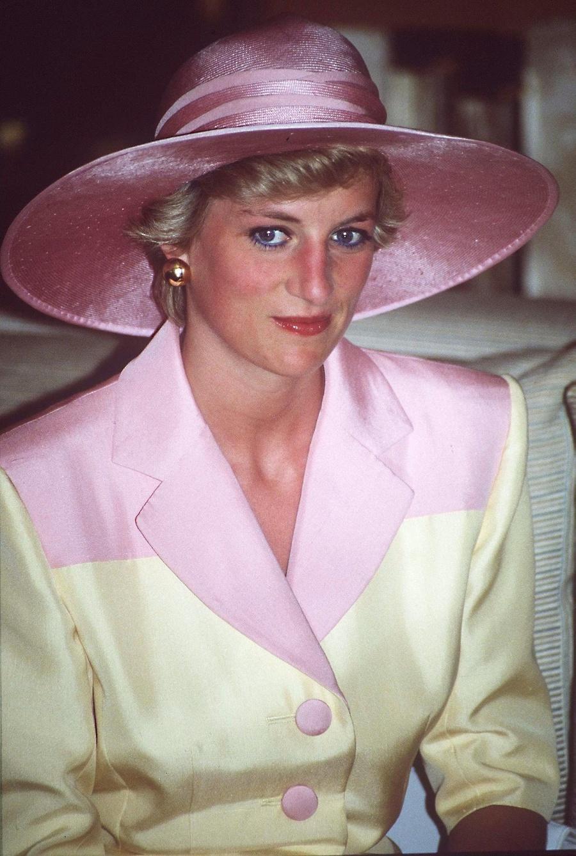 Princezná Diana vo februári