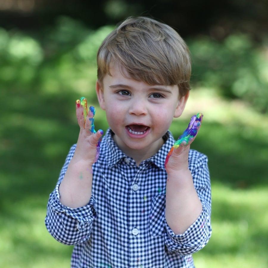 Princ Louis na fotke