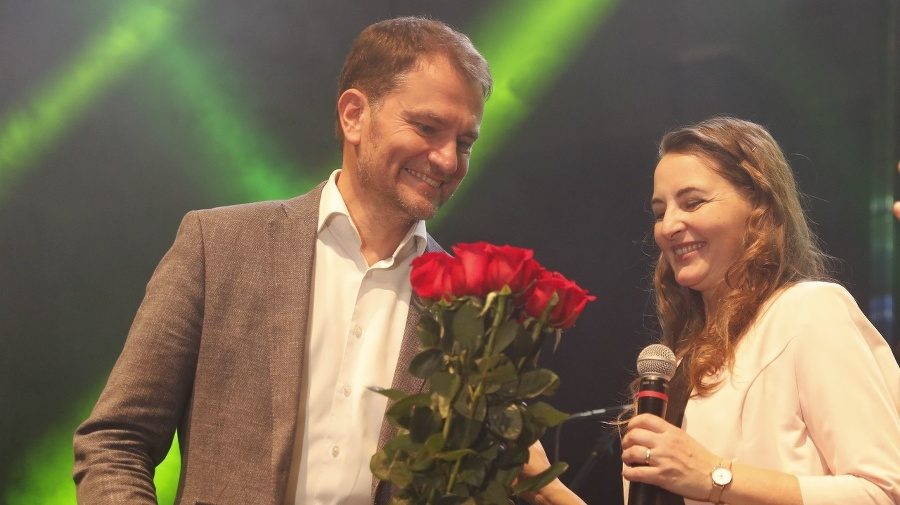Matovič s manželkou Pavlínou.