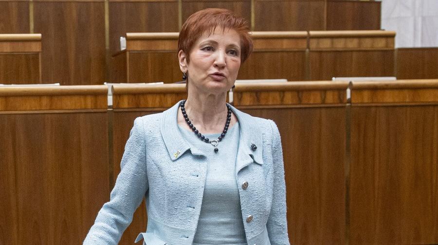 Poslankyňa Jarmila Halgašová (SaS)