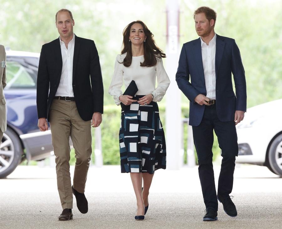 Princovia William a Harry