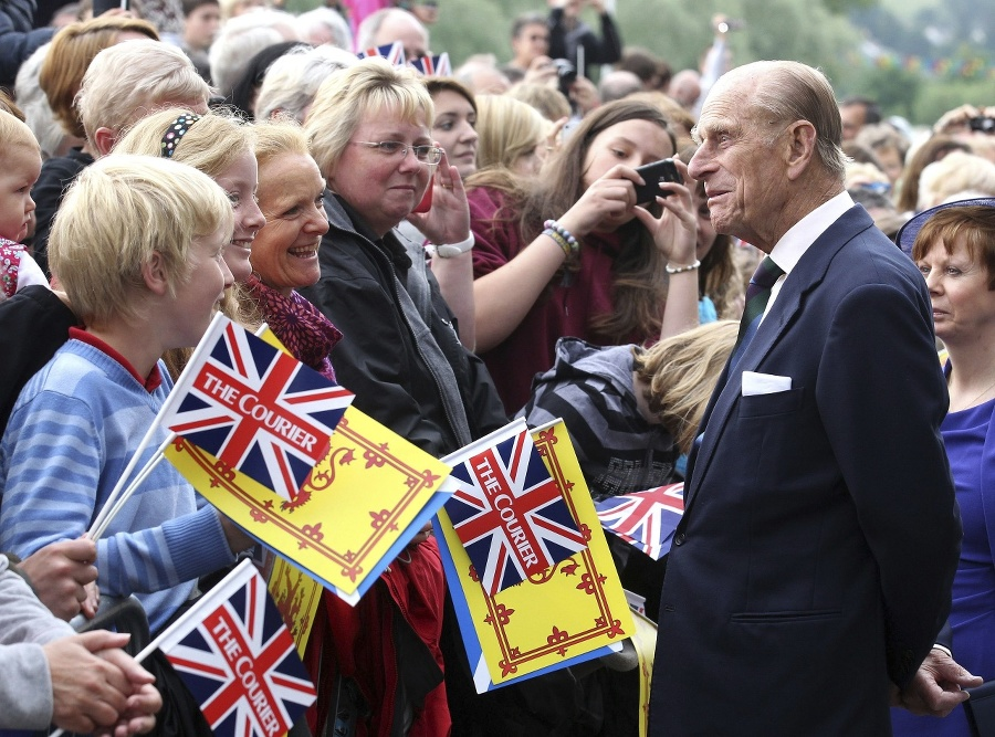 Princ Philip v júni