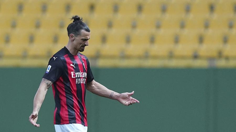 Zlatan Ibrahimovič po červenej