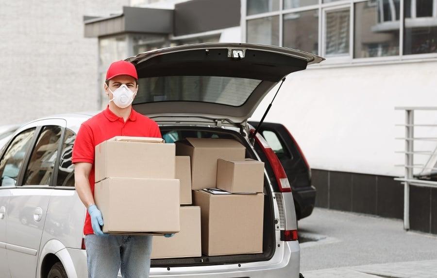 Delivery of big parcels
