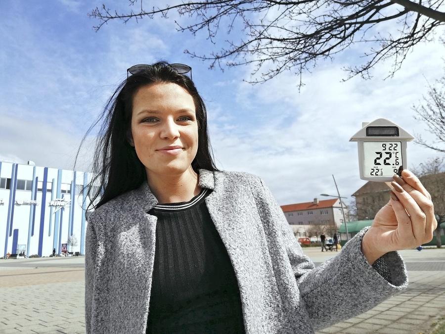 Študentka Viki (21) si