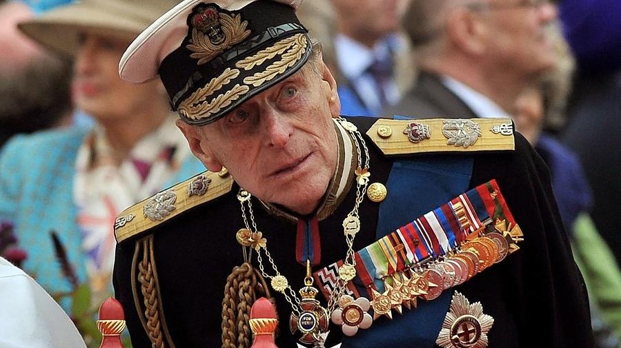 Britský princ Philip na