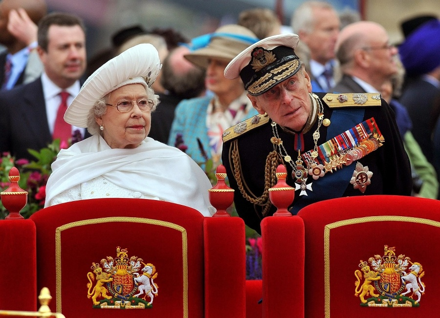Kráľovná Alžbeta II. a