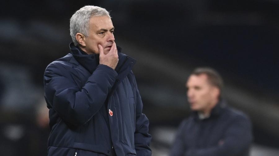 Tréner Tottenhamu José Mourinho.
