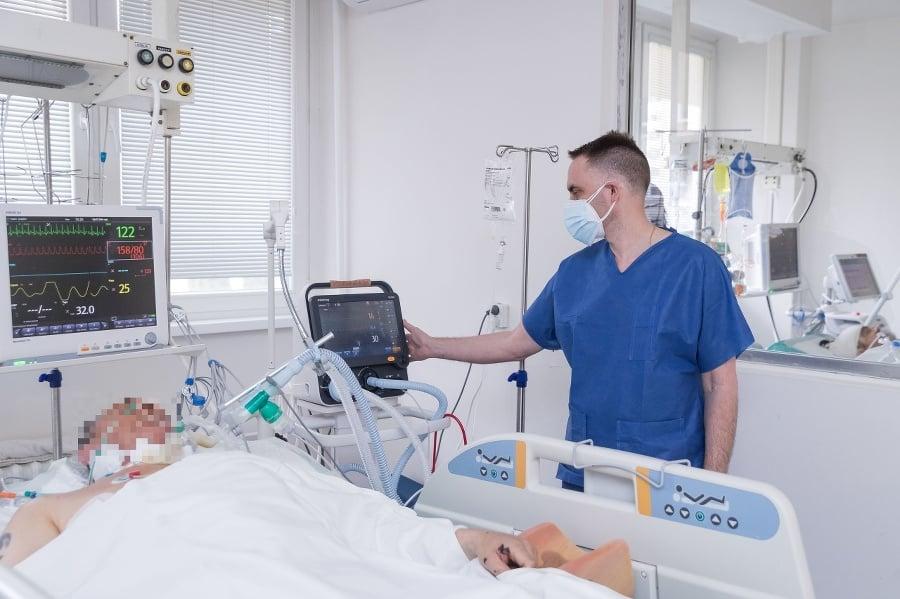 Na oddelení: Počet pacientov
