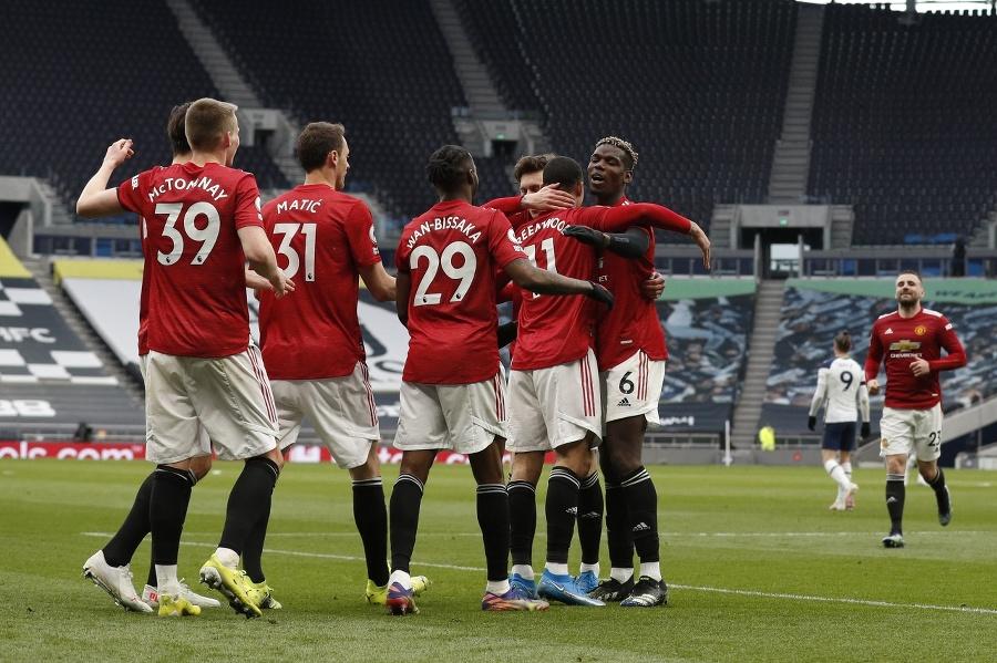 Futbalisti Manchestru United zvíťazili