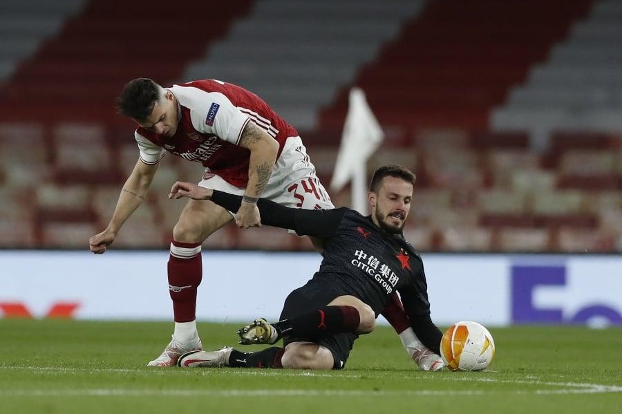 Hráč Arsenalu Granit Xhaka