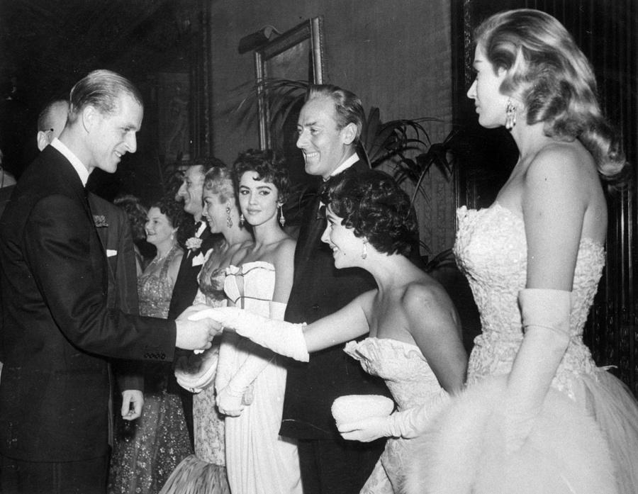 Britský princ Philip a