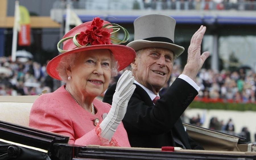 Kráľovná Alžbeta II. s