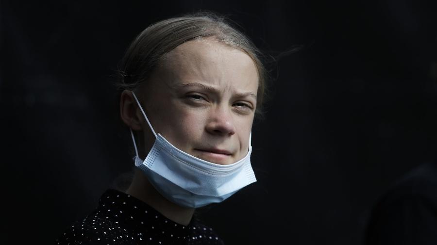 Klimatická aktivistka Greta Thunbergová