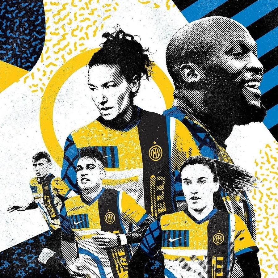 Nové dresy fufbalistov Interu